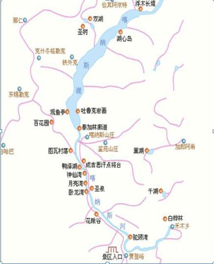水果新疆塔城地图