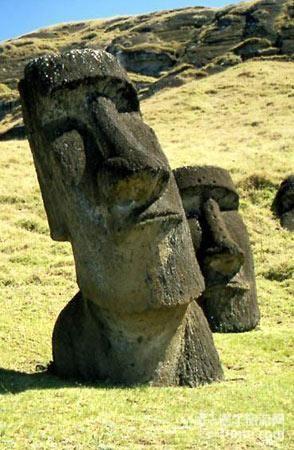复活节岛石像之谜(组图)