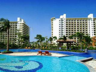 玉海国际酒店泳池一角