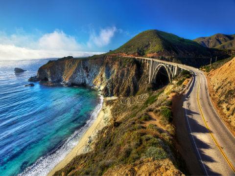 <美国西海岸深度10-12日游>1号公路,旧金山深度,赠西峡谷